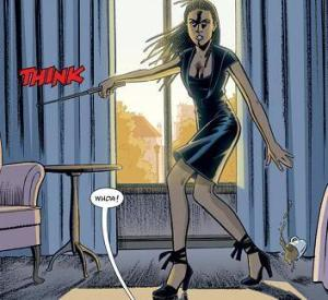 355, even badass in heels