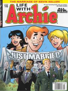 Kevin Keller and Clay Walker get married in Life With Archie #16