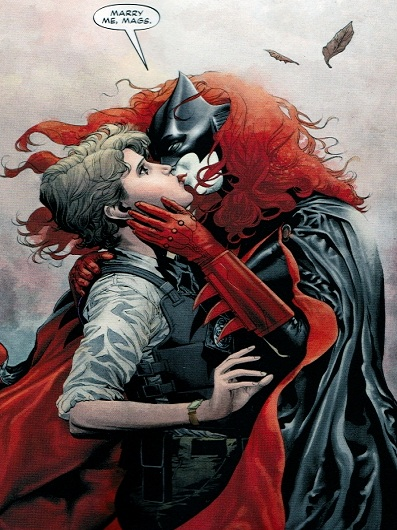 Superheroes in Defense of Love: Same-Sex Marriage and LGBTQ Characters in Comics