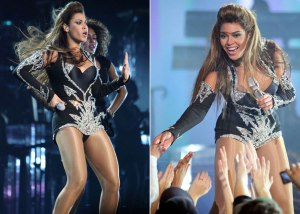 Beyonce as Sasha Fierce