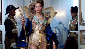 Beyonce as The Queen B