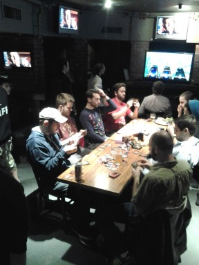 A Magic: The Gathering tournament at The Good Life