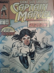 Monica Rambeau as Captain Marvel (1989)