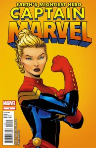 Carol Danvers as Captain Marvel (2011)