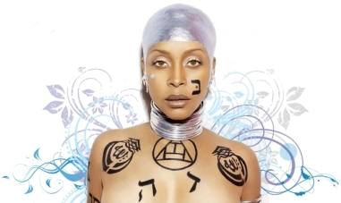 Promo art for Badu's 2010 album New Amerykah Part Two (Return of the Ankh)