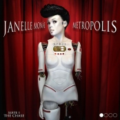 Album art for Monae's debut solo album Metropolis
