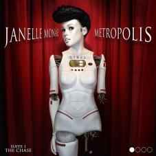 Album art for Monae's debut solo album Metropolis