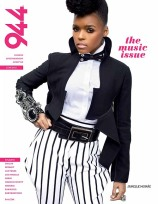 Janelle Monae on the cover of 944 Magazine's 2010 music issue