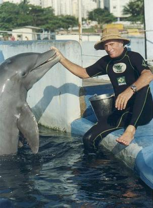 Ric O'Barry, founder of The Dolphin Project