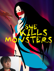 The poster for She Kills Monsters