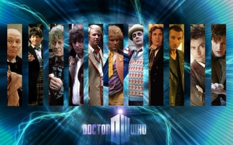 The Doctor through the ages...