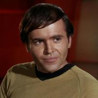 Pavel Chekov (actor Walter Koenig)