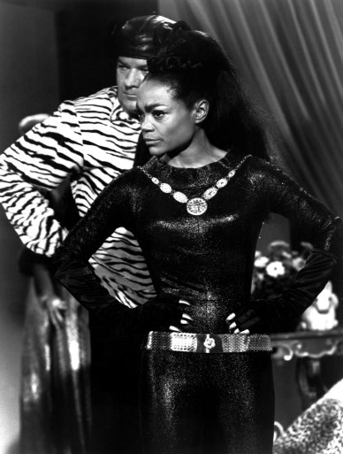 Eartha Kitt as Catwoman in the 1966 TV series