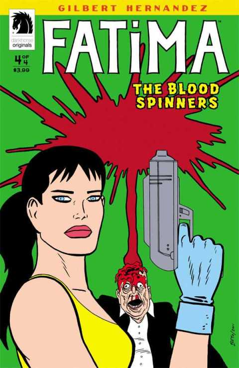 cover of Fatima: The Blood Spinners #4
