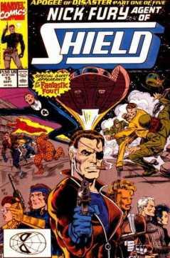Nick Fury in the comics