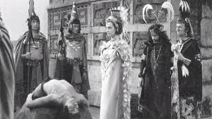 In season 1 of the original Doctor Who series (1964), these white guys played Aztecs...