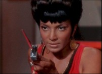 Lt. Nyota Uhura (Nichelle Nichols)