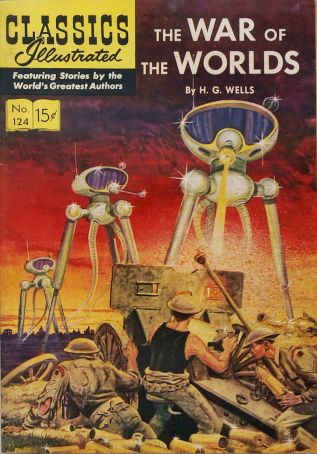 cover of War of the Worlds by H.G. Wells