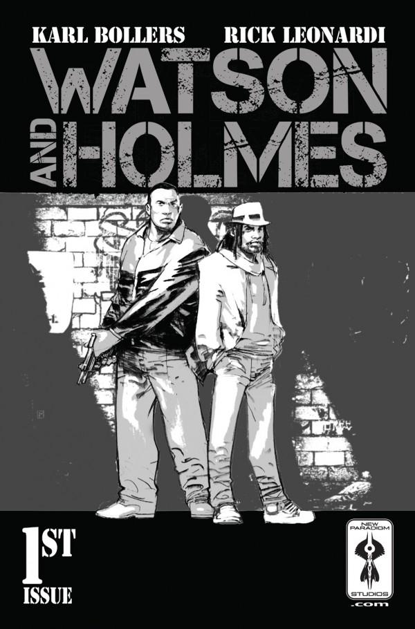 Holmes in Harlem: A Black Sherlock & New Paradigm Studios' New Comics –er… Paradigm!