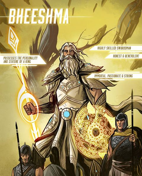 South Asian Superheroes & Grant Morrison's Motion Comic, Sci-Fi Take on the Mahabharata