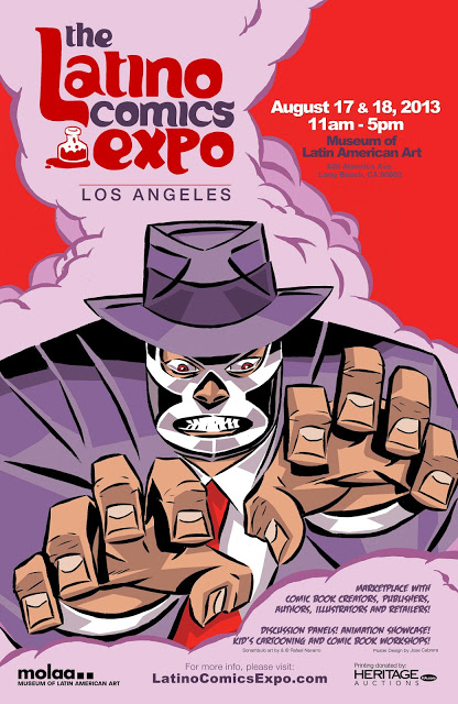Luchador Detectives, Kukaracha Kings, & Chunky SuperGirls, Oh My! Latino Comics On the Scene in L.A.