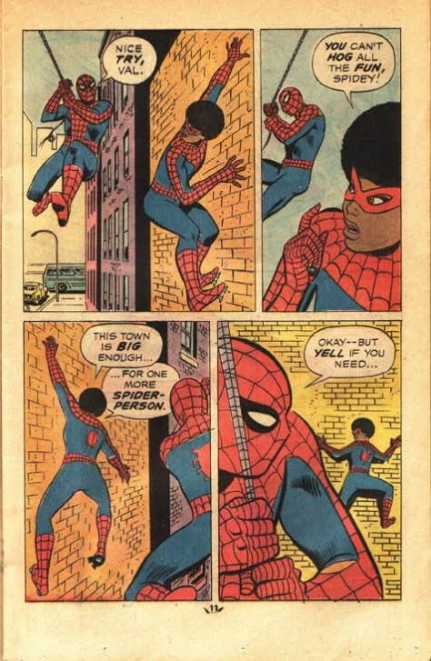 Spidey reluctantly accepts