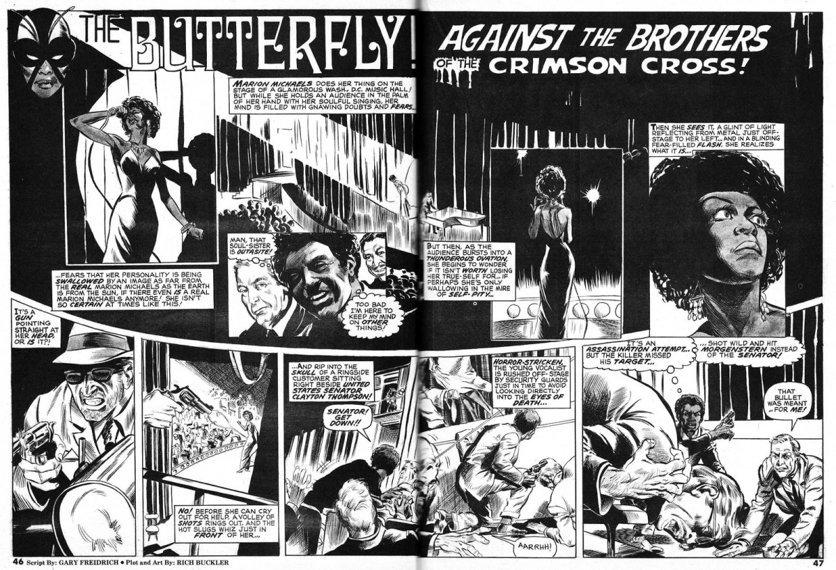 GEEK OUTSIDER   On all things geeky  from the margins to the center  This Crime fighting Cabaret Singer Predates Storm  amp  Bumblebee as the FIRST Black Female Superhero  GeekyBlackHistory