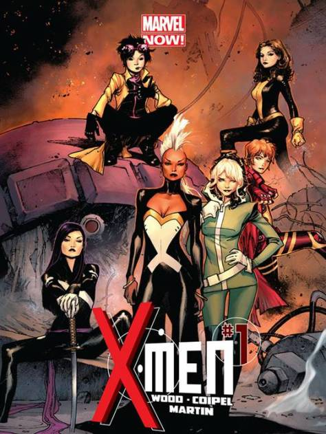 Meanwhile, Brian Wood's X-Men knows what's up, featuring Storm & Rogue as leads in his comic series