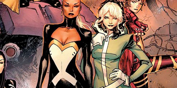 Meanwhile, Brian Wood's X-Men has Storm and Rogue as its leading X-ladies