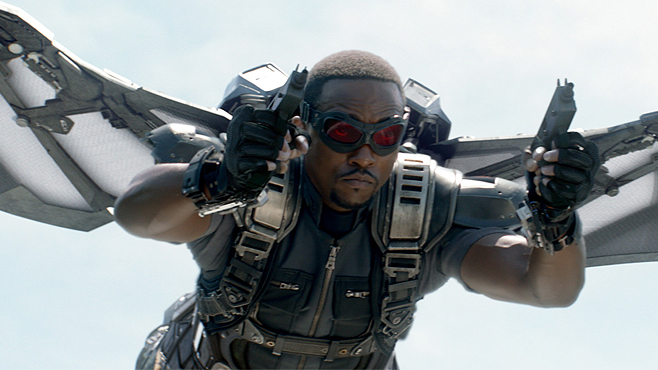 Anthony Mackie Gives The Best Interview Ever #UnleashTheFalcon