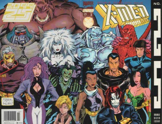 Krystalin – A Black Female Superhero in the Future's More Diverse X-Men